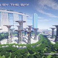 minecraft map world of world singapore gardens by the bay