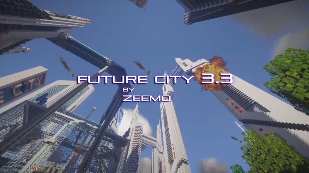 Minecraft map ville future city 3.3