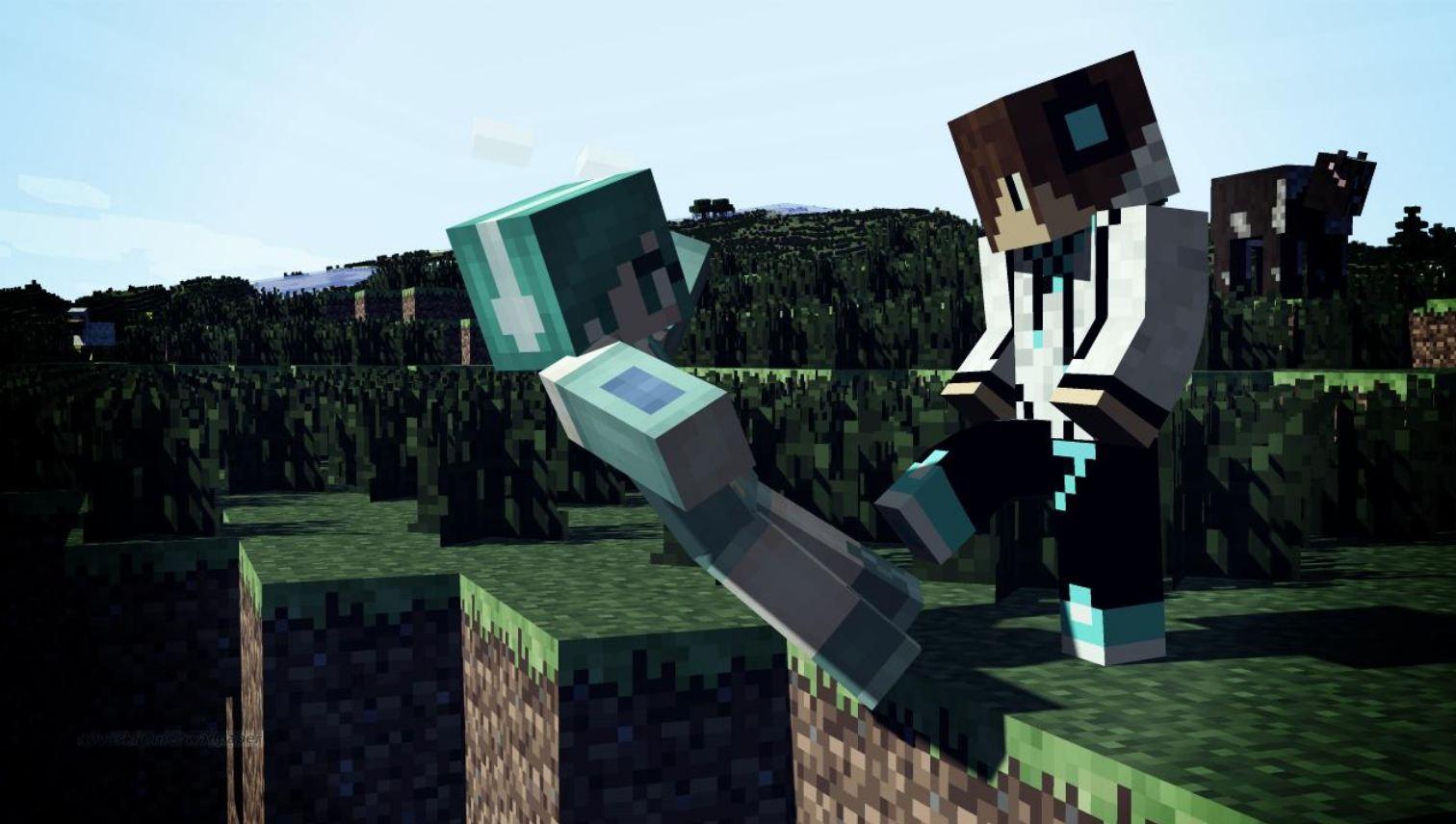 Wallpaper minecraft pvp : Minecraft-aventure.com