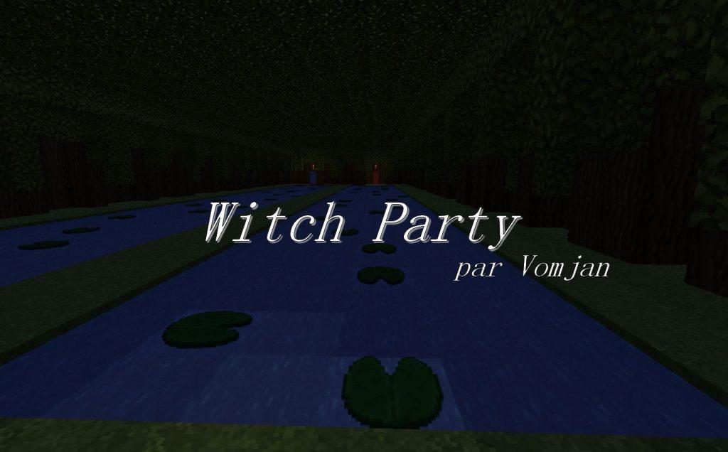 minecraft fr map deux joueur witch party