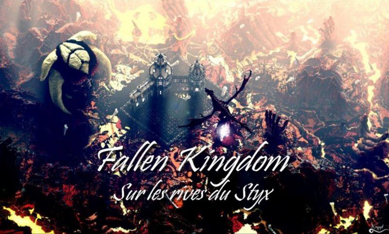 minecraft map fallen kingdom sur les rives du styx