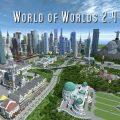 minacraft map ville world of worlds 2.4