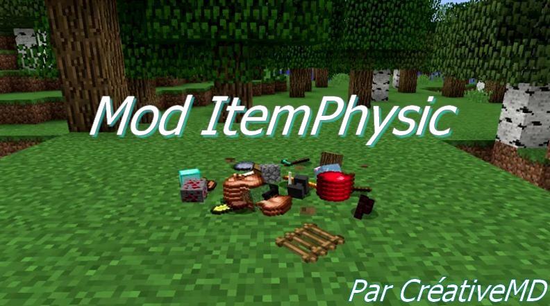 minecraft mod itemphysic