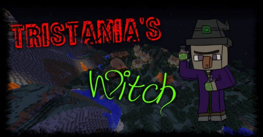 map aventure minecraft tristania's witch