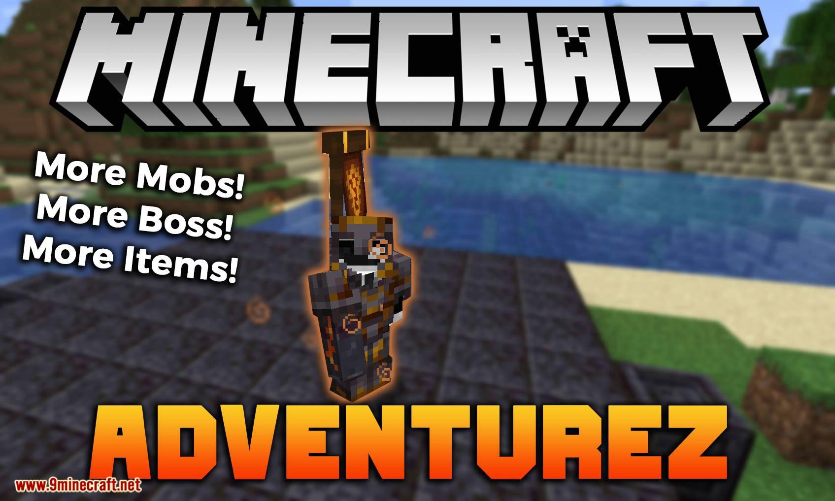 AdventureZ mod for minecraft logo