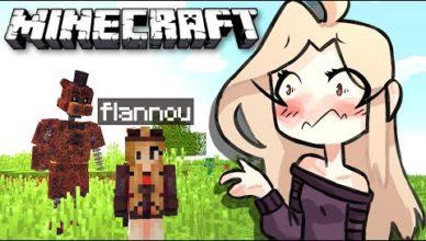 animatronics vs flannou je deviens amie avec un animatronic ep 8 minecraft survie fnaf fr