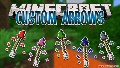 custom arrows data pack 1 17 1 1 16 5 adds powerful arrows with special effects