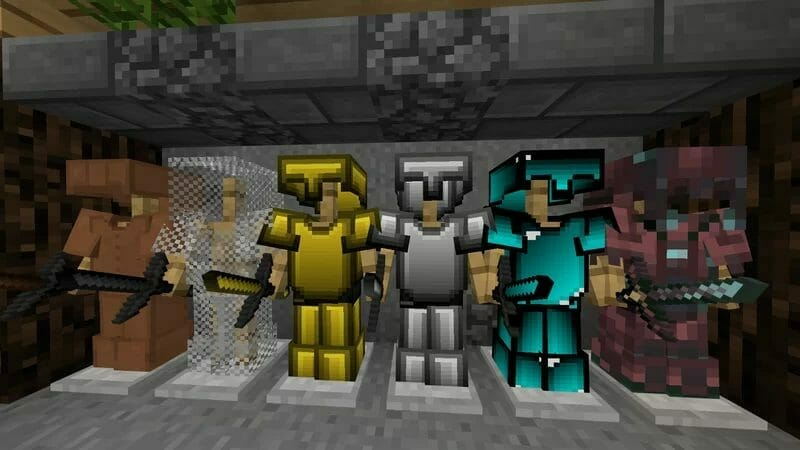 Darnos 32x PvP Texture Pack 1.17.1 - 1
