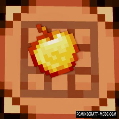 Enchanted Golden Apple Crafting Mod MC 1.17.1, 1.16.5, 1.12.2