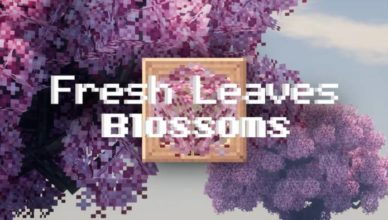 fresh leaves blossoms resource pack 1 17 1 1 16 5