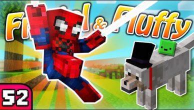 frigiel fluffy spiderman minecraft s7 ep 52