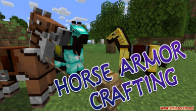 horse armor crafting data pack 1 17 1 1 16 5 1 15 2 adds crafting recipe for horse armors