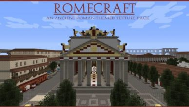 romecraft resource pack for 1 17 1 1 16 5 1 15 2 1 14 4 1 13 2