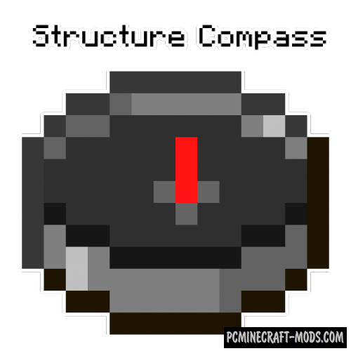 Structure Compass - Tool Mod For Minecraft 1.17.1, 1.16.5