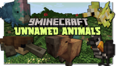 unnamed animals mod 1 16 5 creatures