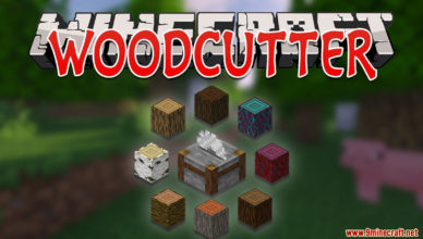 woodcutter data pack 1 17 1 helps you craft wood related blocks