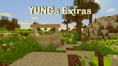 yungs extras mod 1 16 5 upgrade for vanilla minecraft