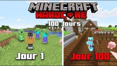 100 jours hardcore minecraft