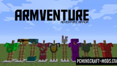 armventure new armor mod for minecraft 1 17 1 1 16 5 1 16 4