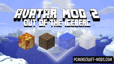 avatar 2 out of the iceberg mod for minecraft 1 12 2 1 11 2