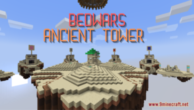 bedwars ancient tower map 1 17 1 for minecraft