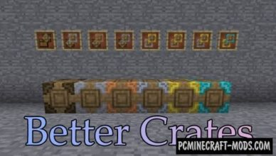 better crates new blocks mod for minecraft 1 17 1 1 16 5