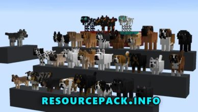 better dogs resource pack for 1 17 1 1 16 5 1 15 2 1 14 4
