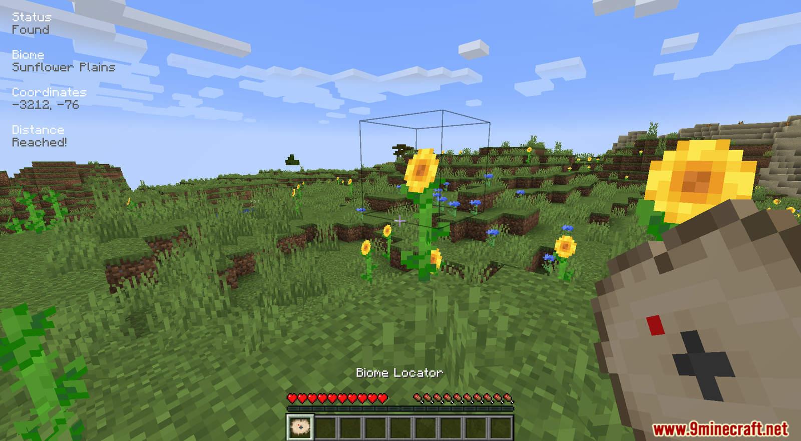 Biome Locator mod for Minecraft (10)