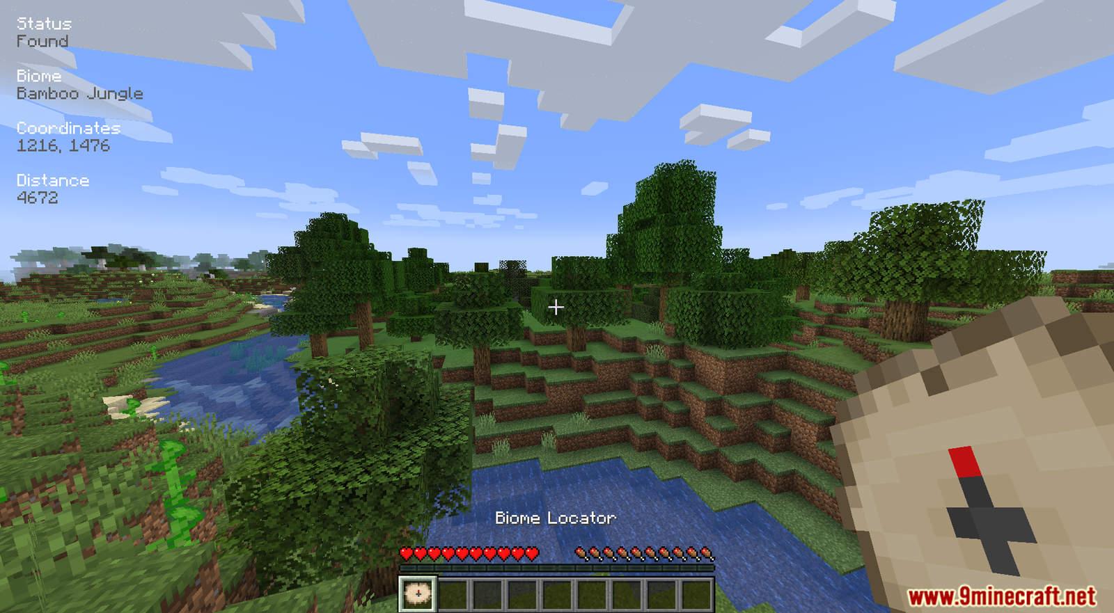 Biome Locator mod for Minecraft (11)