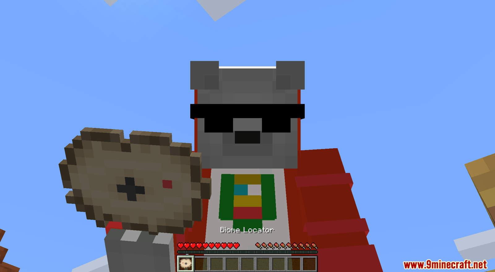 Biome Locator mod for Minecraft (4)