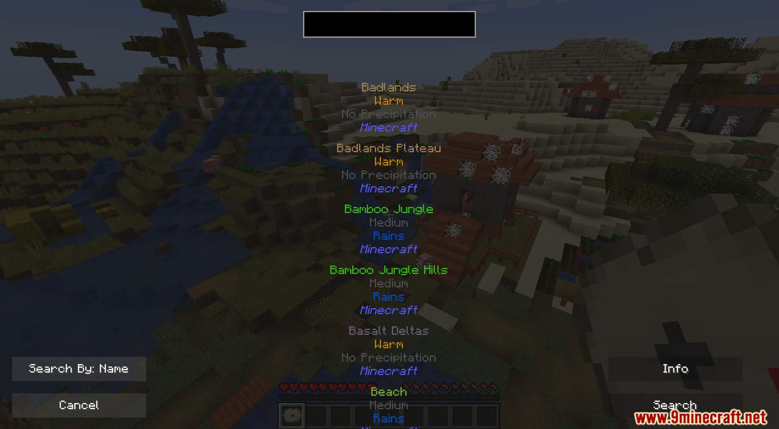 Biome Locator mod for Minecraft (5)