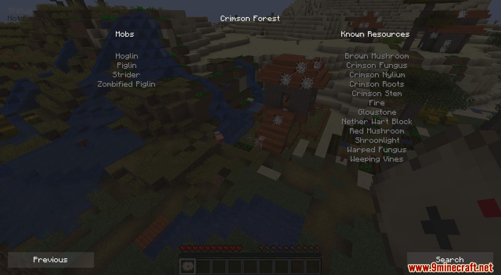 Biome Locator mod for Minecraft (8)