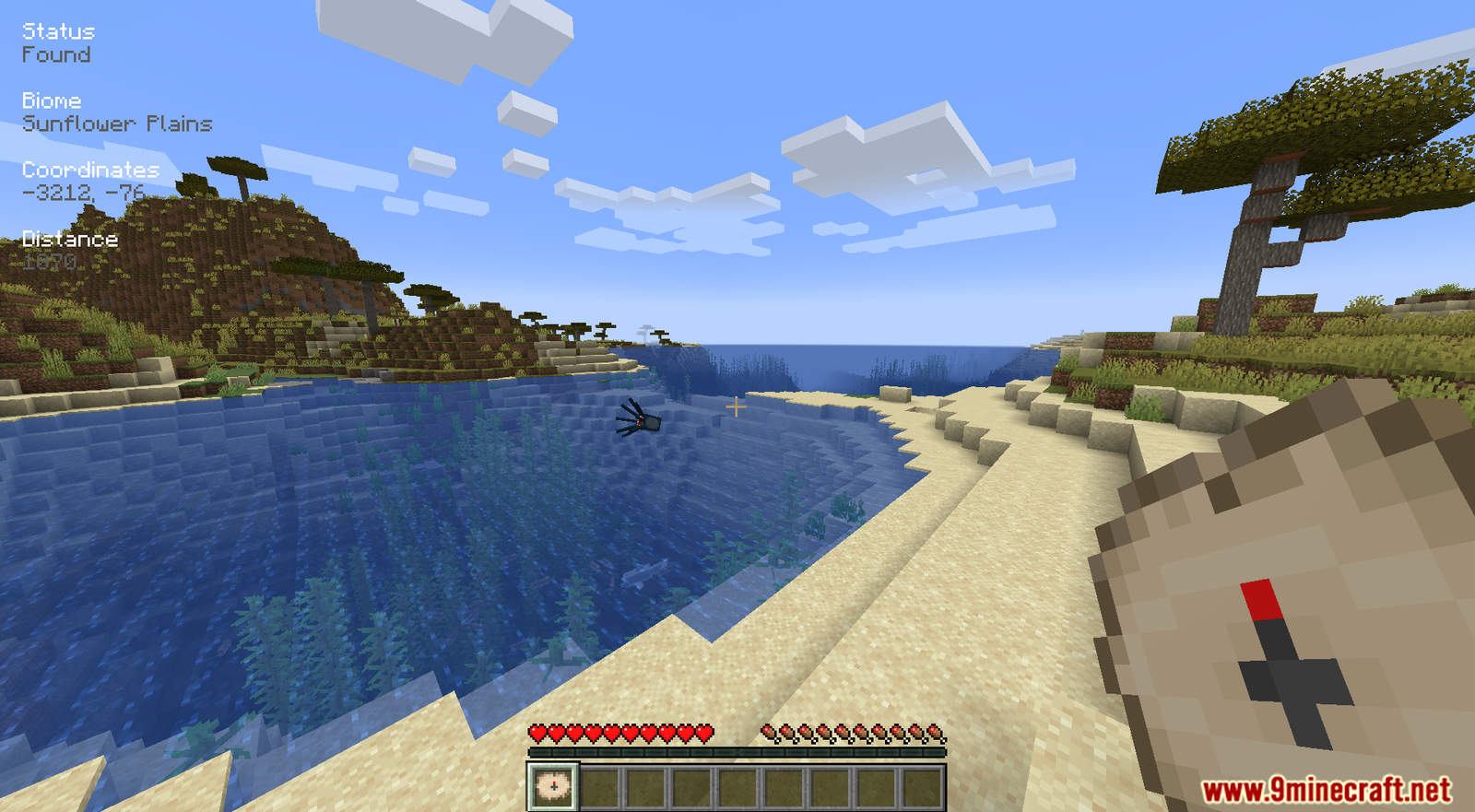 Biome Locator mod for Minecraft (9)