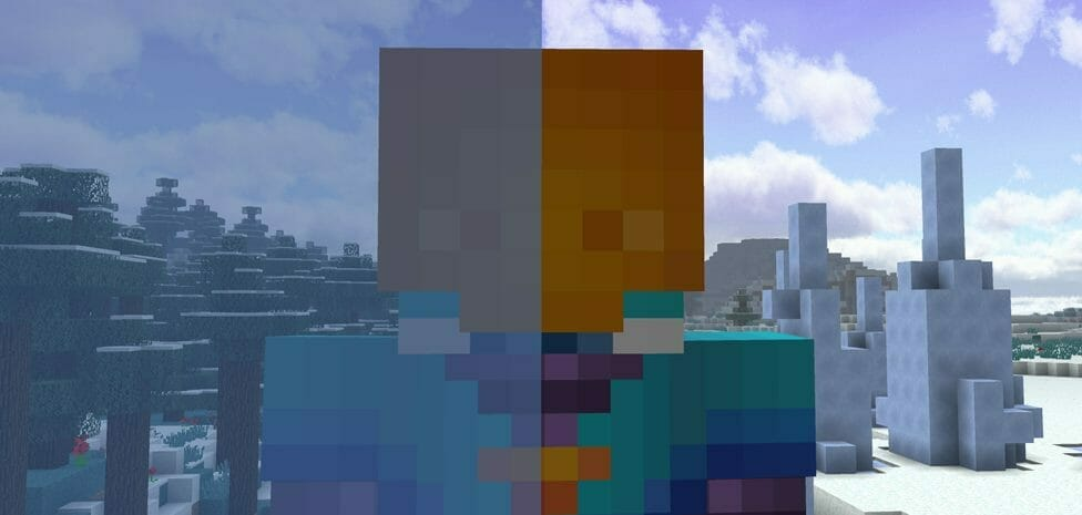 Clear Glass with Connected Textures 1.17.1 - 3