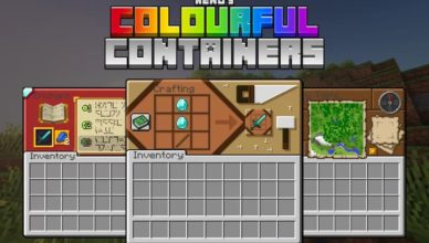 colourful containers gui resource pack 1 16 5 1 15 2