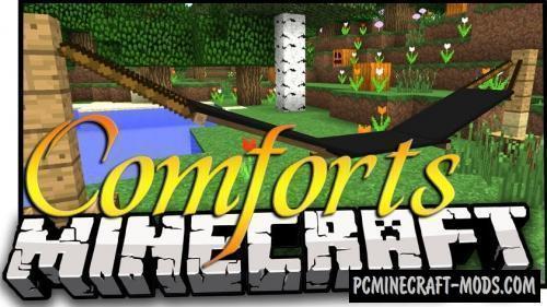 Comforts - Decor Mod For Minecraft 1.17.1, 1.16.5, 1.12.2