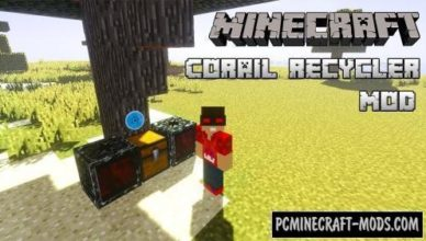corail recycler new block mod for minecraft 1 17 1 1 16 5 1 12 2