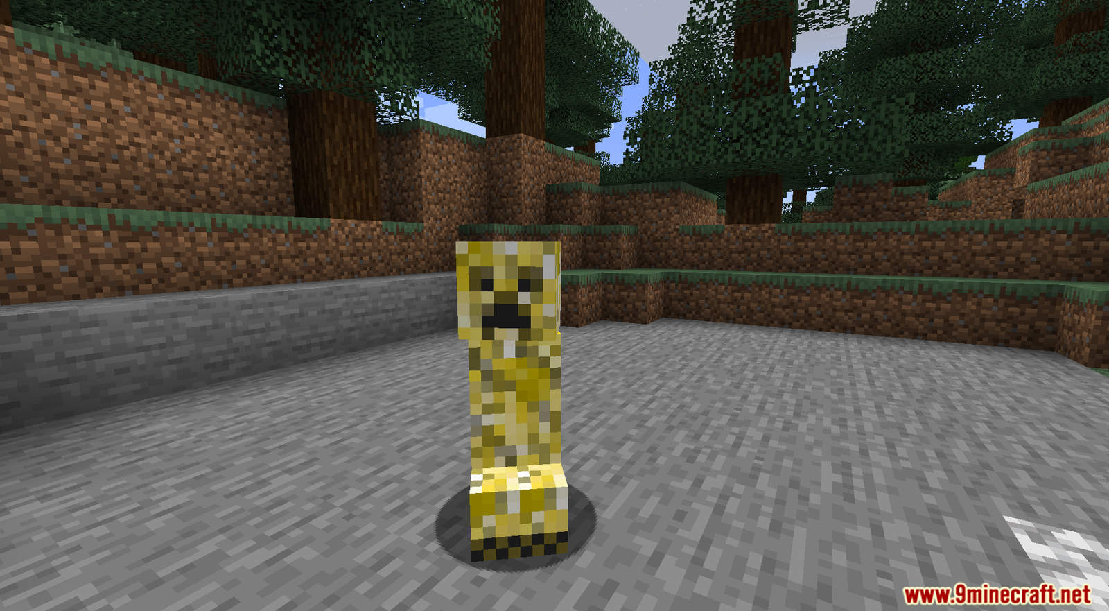 Crazy Creepers mod for Minecraft (1)