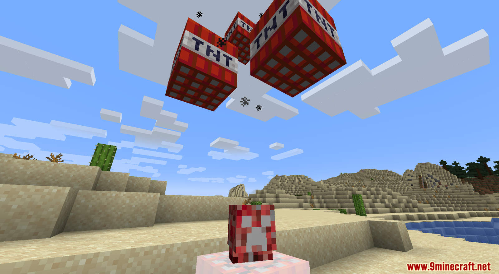 Crazy Creepers mod for Minecraft (7)