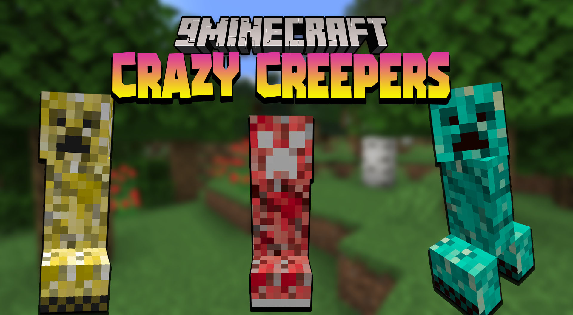 Crazy Creepers mod for Minecraft Thumbnail