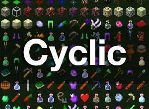 cyclic new blocks and items mod for minecraft 1 16 5 1 12 2