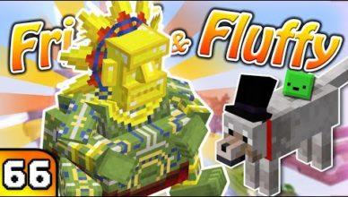 frigiel fluffy on sattaque aux gros boss minecraft s7 ep 66