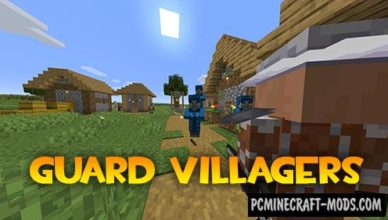 guard villagers new mobs mod for minecraft 1 17 1 1 16 5