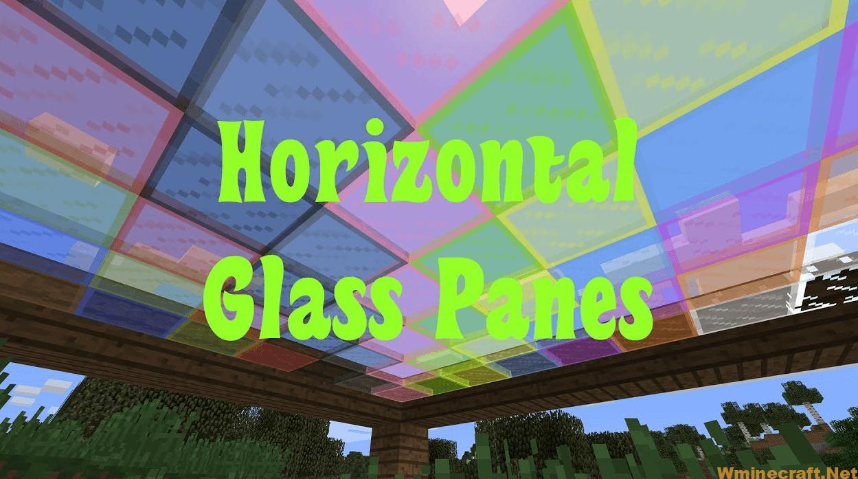 Horizontal Glass Panes