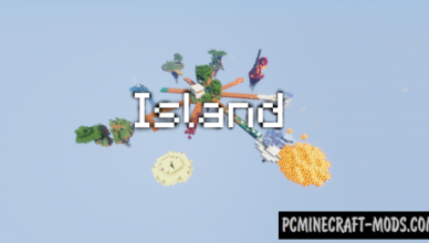 island map for minecraft