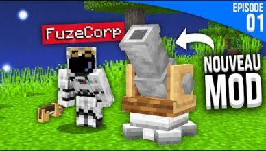 jai installe un mod incroyable sur minecraft minecraft modde s6 episode 01