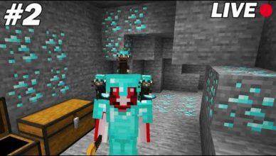 je vais recolter un maximum de diamants avec mes rats minecraft survie rats 02