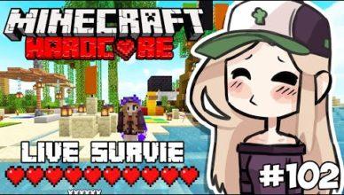 live survie 1 17 uhc mon ile privee axolotls ep 102 en direct minecraft 16 18h