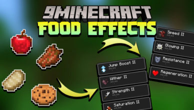 minecraft but eating gives random effects data pack 1 17 1 1 16 5 foods effects