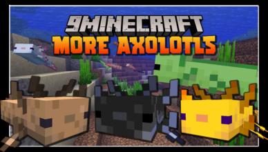 more axololts mod 1 17 1 companions pets
